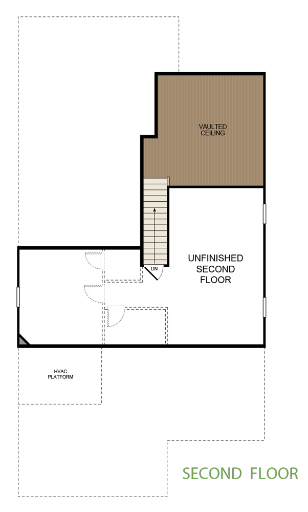Taylor Morrison Oconee Floor Plan Second Floor