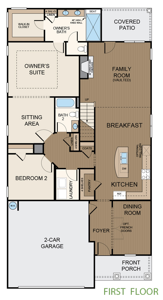Taylor Morrison Oconee Floor Plan First Floor