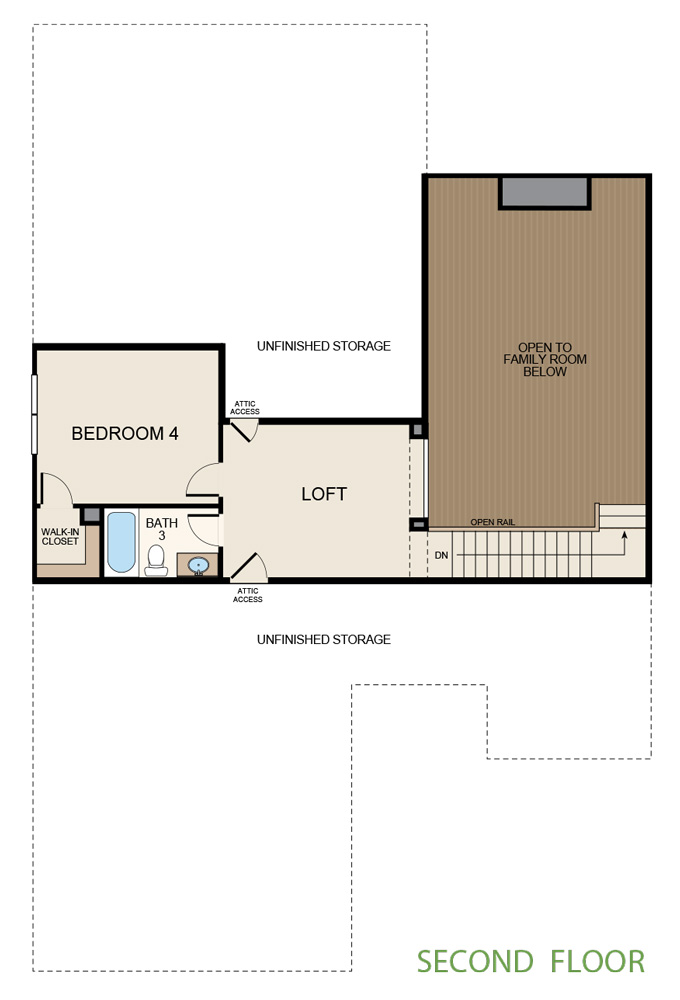 Taylor Morrison Floorplan Second Floor