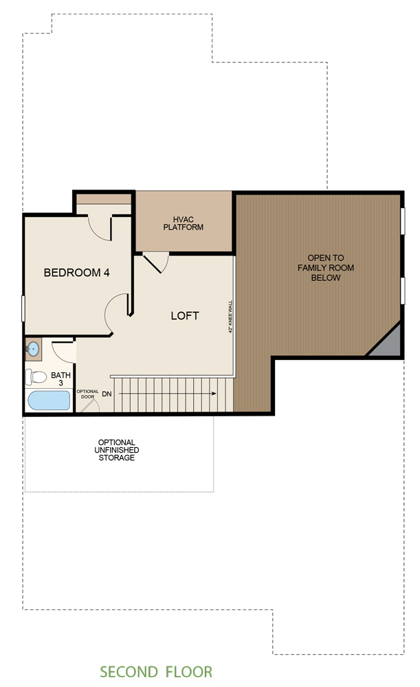 Taylor Morrison Russell Floorplan Second Floor
