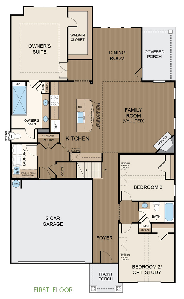 Taylor Morrison Russell Floorplan First Floor
