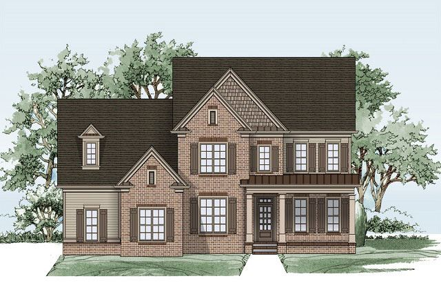 Tipton Home Builders Brentwood Elevation