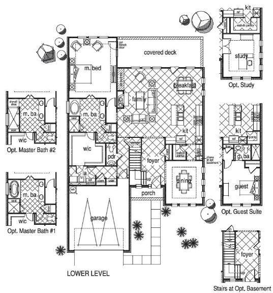 Vanderbilt Buena Vista Elevation A Floorplan
