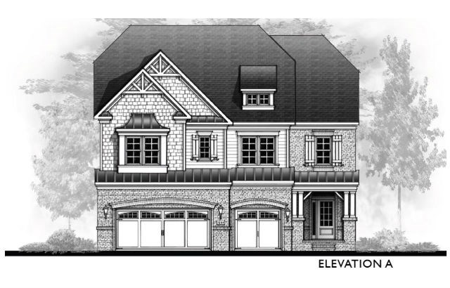 Vanderbilt Homes Coppola - Elevation A