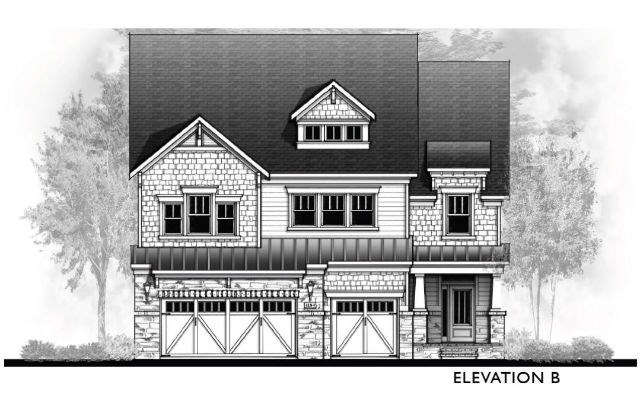 Vanderbilt Homes Coppola - Elevation B
