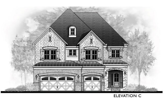 Vanderbilt Homes Coppola - Elevation C