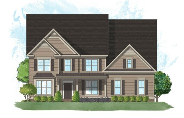 Harcrest Homes Willowstone - Elevation