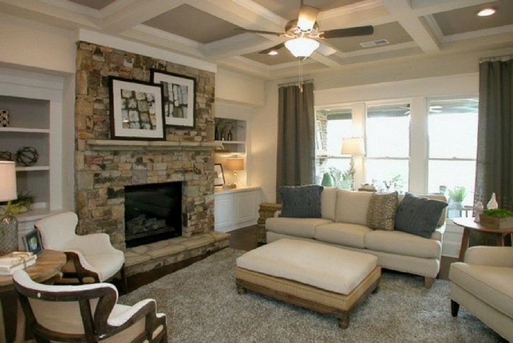 Tipton Homebuilders Model  Interior at The Alcove in Sterling on the Lake
