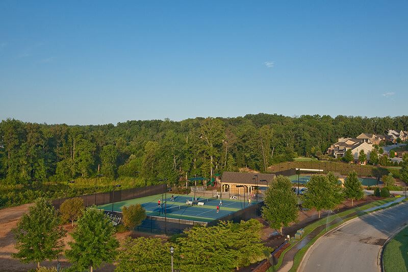 Sterling-Tennis-Aerial-View-Of-Courts