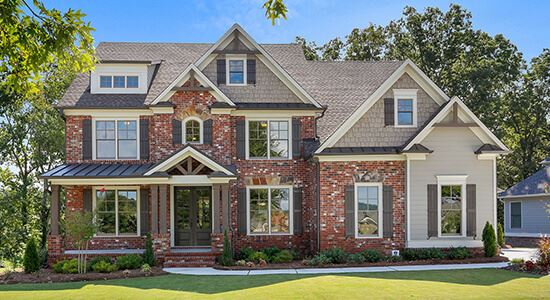 Harcrest Homse Model Home in Sterling on the Lake