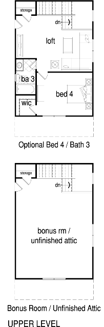 Vanderbilt Brighton Floorplan Second Floor