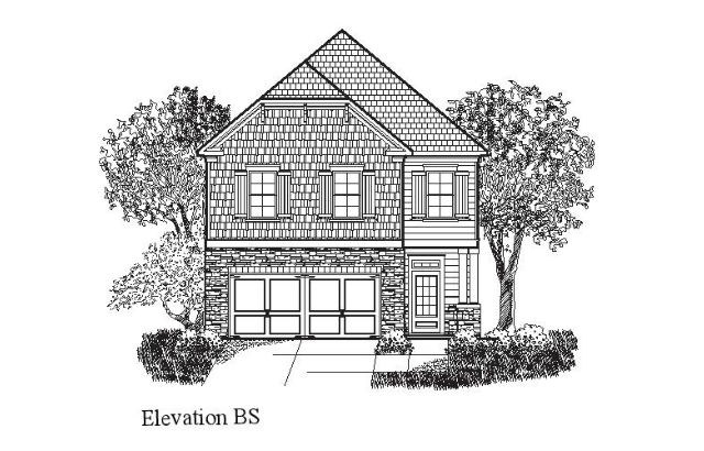 Dr Horton - Canton - Elevation BS