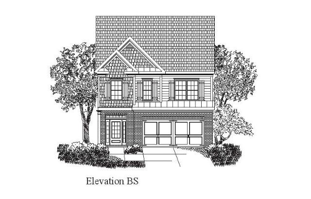 DR Horton - Dillard - Elevation BS
