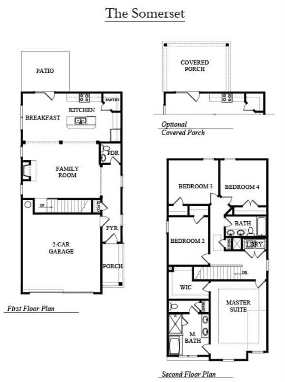 DR Horton-Somerset-Floorplan