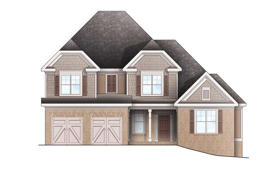 Harcrest Homes - Highlands - Elevation C(2)