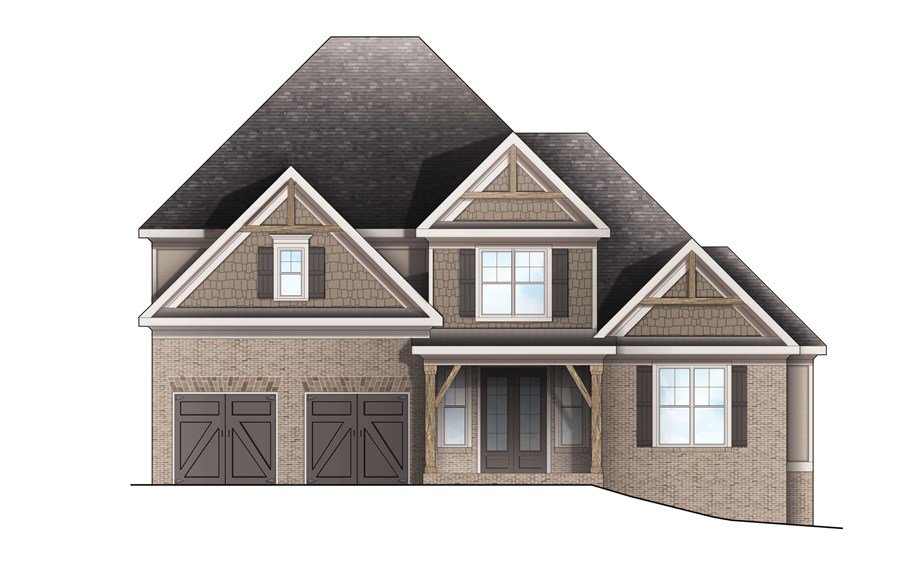 Harcrest Homes - Highlands - Elevation C
