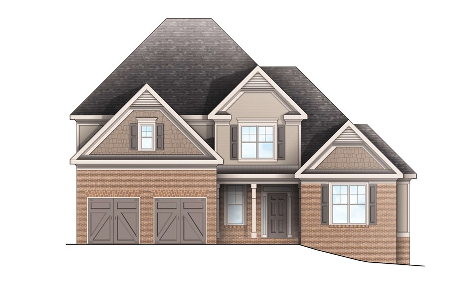 Harcrest Homes - Highlands - Elevation D