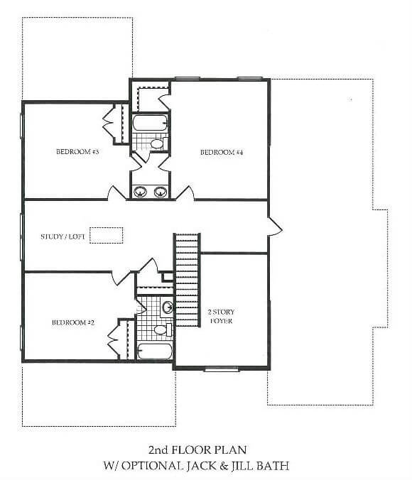 Harcrest_Highlands_Second Floor_Options