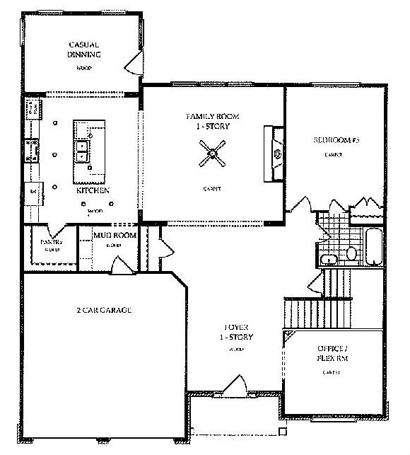 Harcrest - Lakemont - First Floor