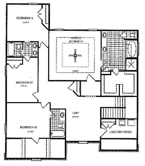 Harcrest - Lakemont - 2nd Floor - Options