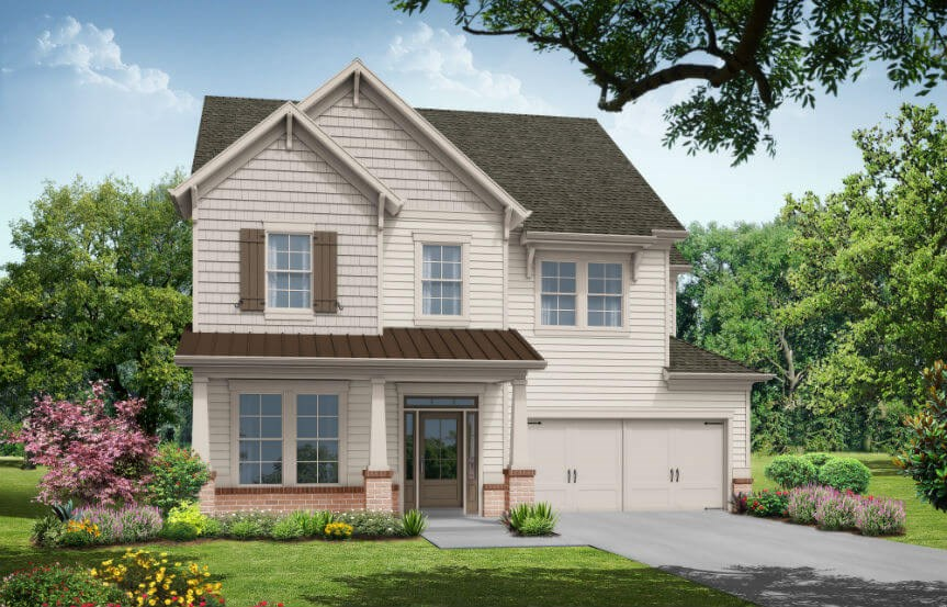 Tipton Homebuilders - Aspen Elevation A