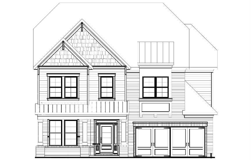 Tipton Homebuilders - Aspen Elevation C