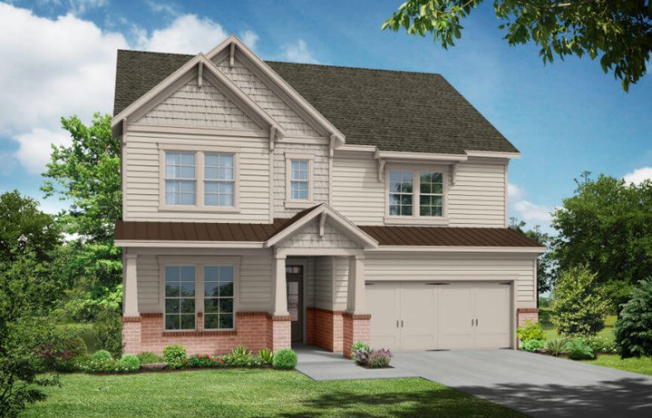 Tipton Homebuilders Birch - Elevation A