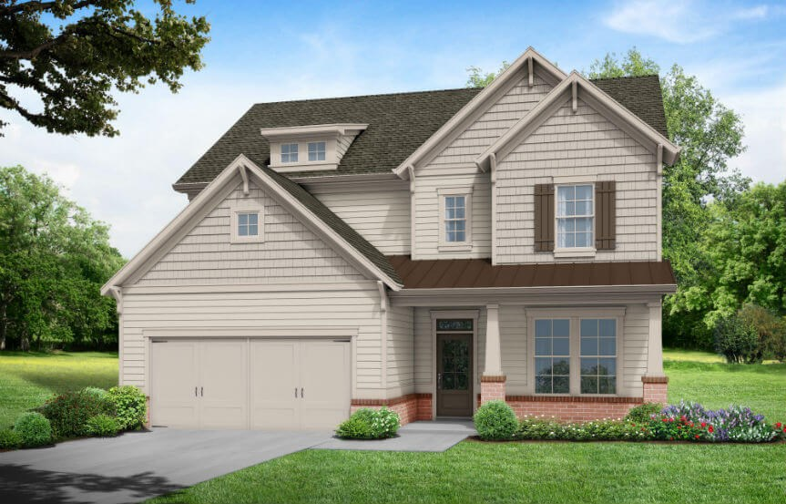 Tipton Homebuilders Cypress - Elevation A