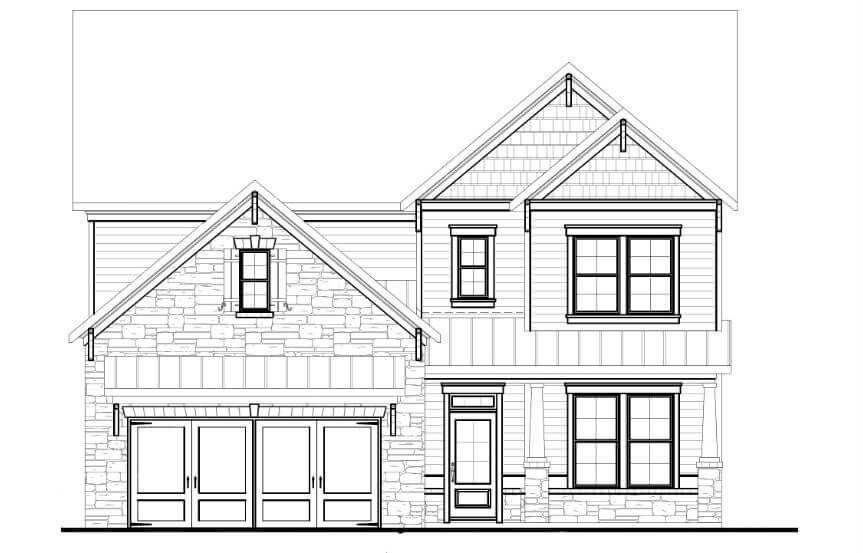 Tipton Homebuilders  Cypress - Elevation B