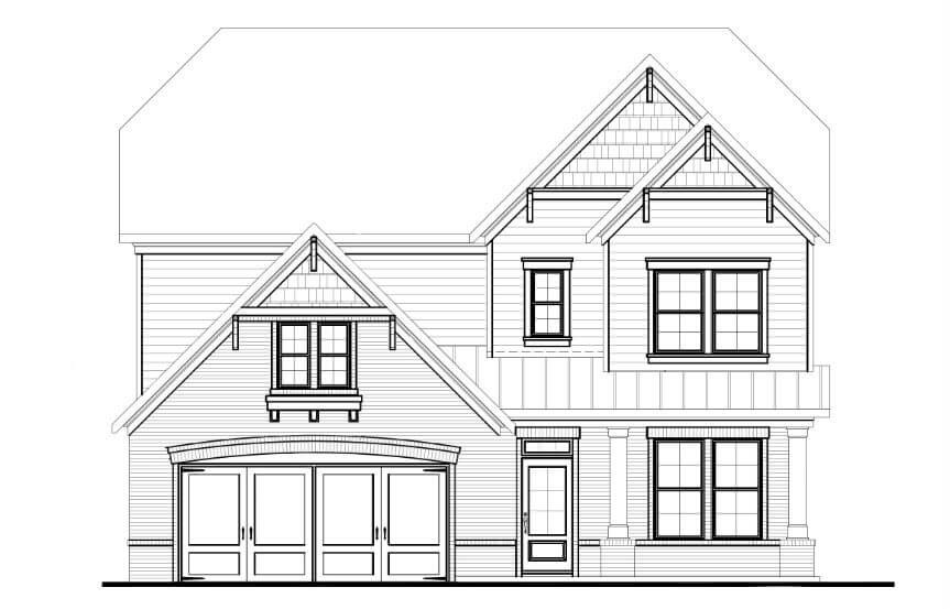 Tipton Homebuilders - Cypress Elevation C