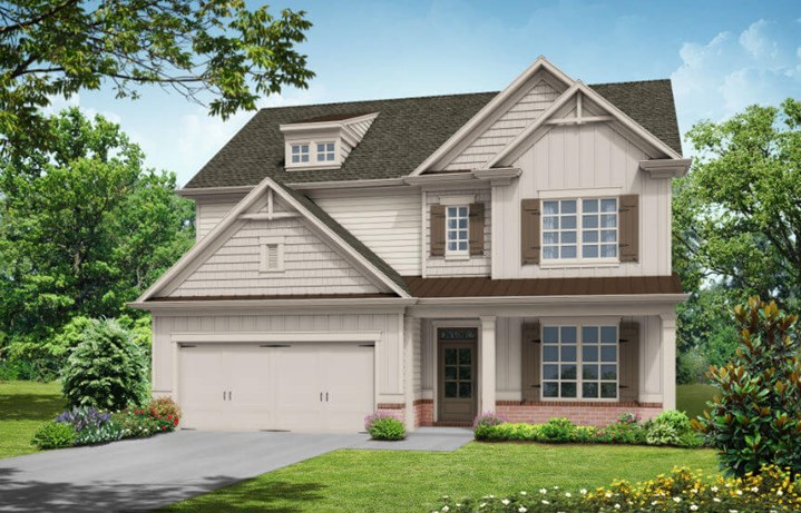 Tipton Homebuilders - Dalton Elevation A