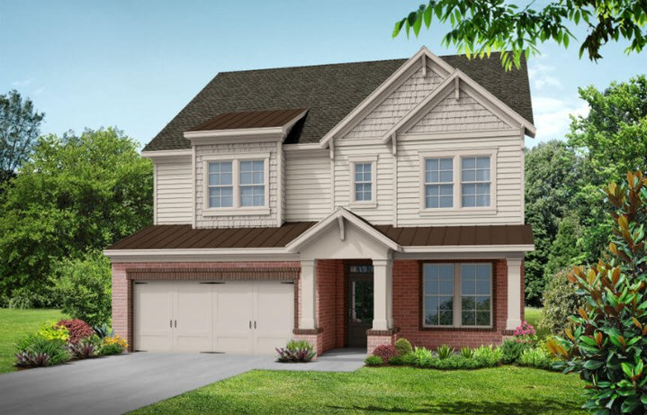 Tipton Homebuilders Douglas - Elevation A