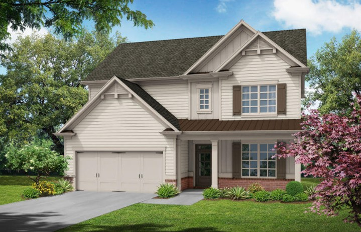 Tipton Homebuilders Farmington - Elevation A