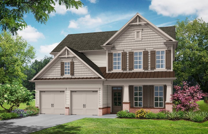 Tipton Homebuilders Everglade - Elevation A
