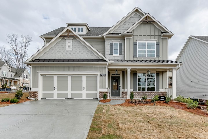 Tipton Homebuilders Dalton - Exterior of home