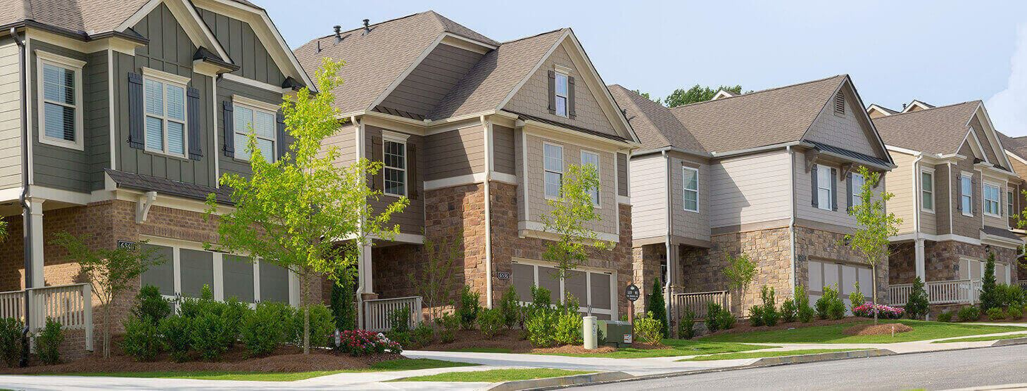 New homes in Sterling on the Lake, Flowery Branch GA.