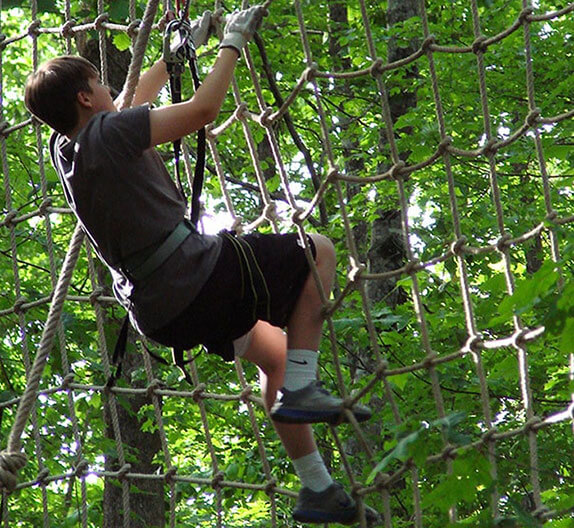 Treetop Quest ropes course