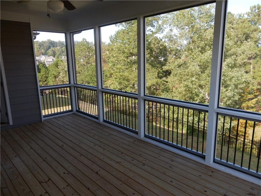 Vanderbilt Homes Belmont Screened Porch  in The Springs at Sterling on the Lake